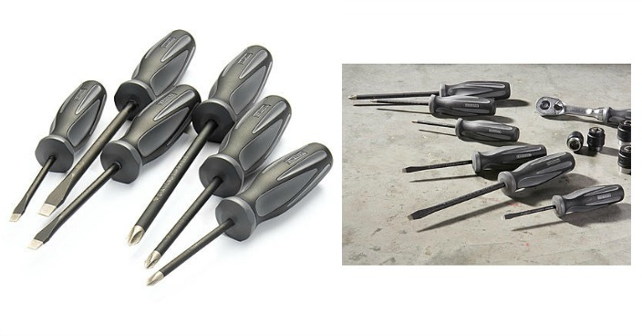 Craftsman 6-Piece Diamond Tip Screwdriver Set Only $14.99! Down From $40!