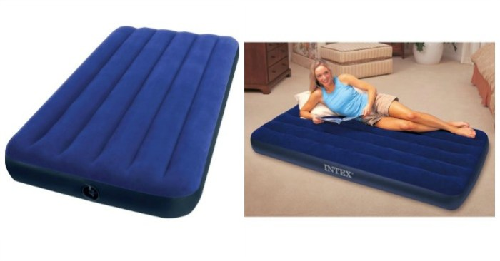 Intex Twin Classic Downy Airbed Mattress Just $7.97! Down From $16!