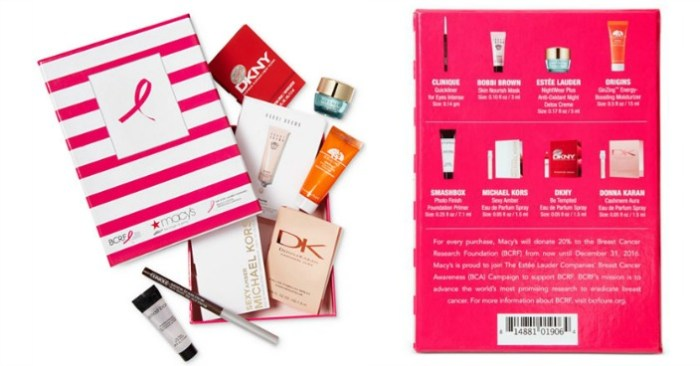 Macy's 8-Pc. Beauty Sampler Set Only $10! Down From $20!