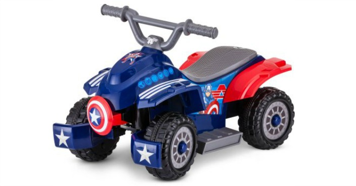 Marvel Captain America Toddler Quad Just $50! Down From $99!
