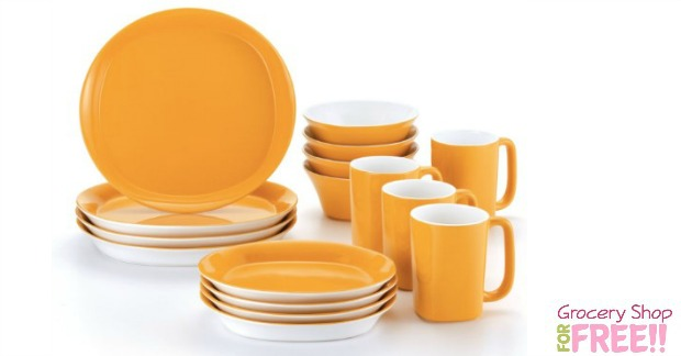 Rachael Ray Stoneware Dinner Set