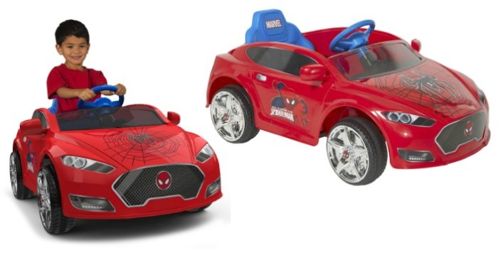 Spider-Man Battery-Powered Ride-On Just $69! Down From $149!