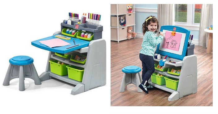 Step2 Flip & Doodle Easel Desk & Stool Only $35.99! Down From $100!
