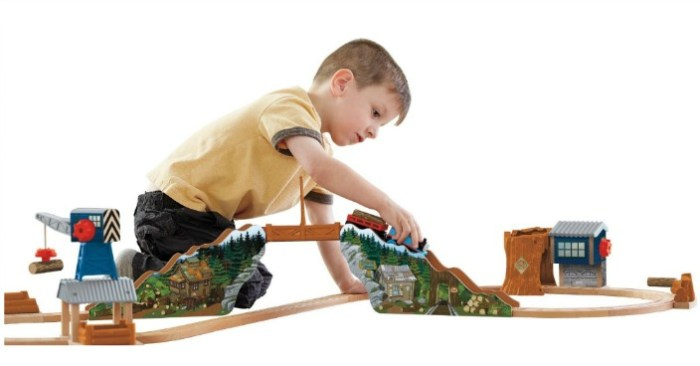 Thomas Tidmouth Timber Company Wooden Railway Just $52! Down From $130!