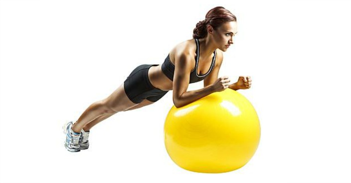 FREE Weider 55cm Stability Exercise Ball!