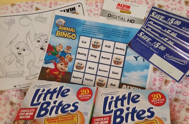 Entenmann's Little Bites & Alvin & The Chipmunks: Road Chip Giveaway!