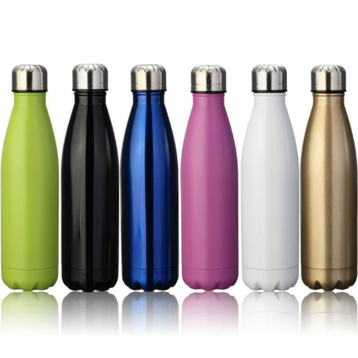 17oz Double Wall Stainless Steel Water Bottle Just $13.95! Down From $50!