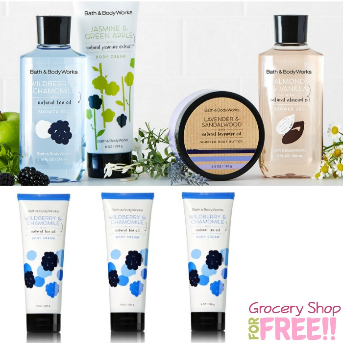FREE Bath & Body Works Full Size Body Cream! $13 Value!  With ANY Purchase!