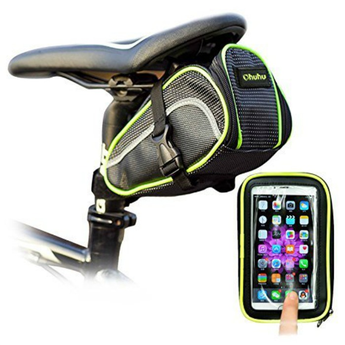 Bicycle Saddle Seat Bag and Phone Holder Just $9.74! Down From $40!