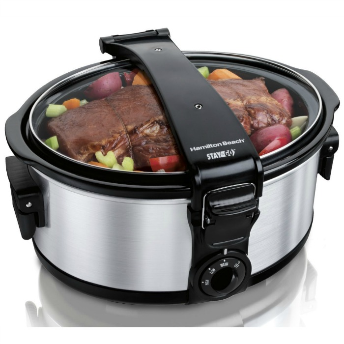 Hamilton Beach 6-Quart Portable Slow Cooker Just $22.09! Down From $63!