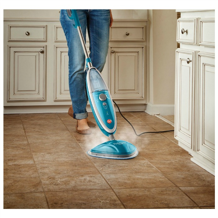 hoover steam mop twintank steam cleaner just down. Black Bedroom Furniture Sets. Home Design Ideas