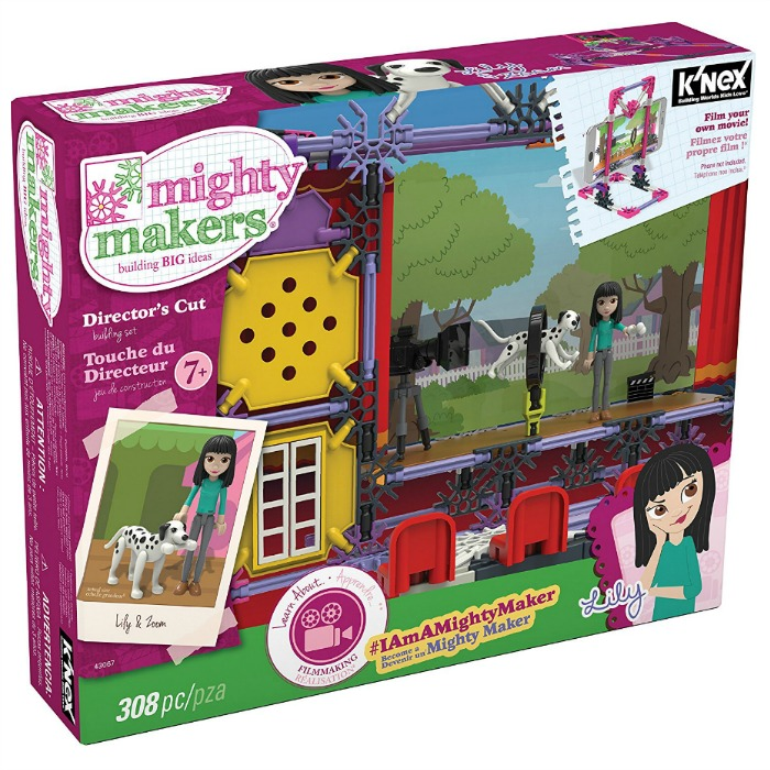 K'NEX Mighty Makers Director's Cut Building Set Just $12.38! Down From $35!