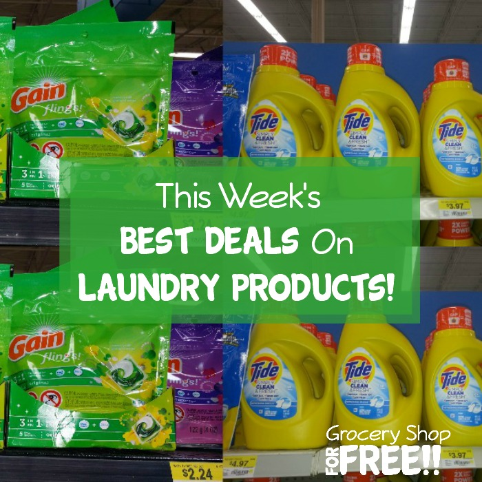 Laundry Products Deals Roundup!