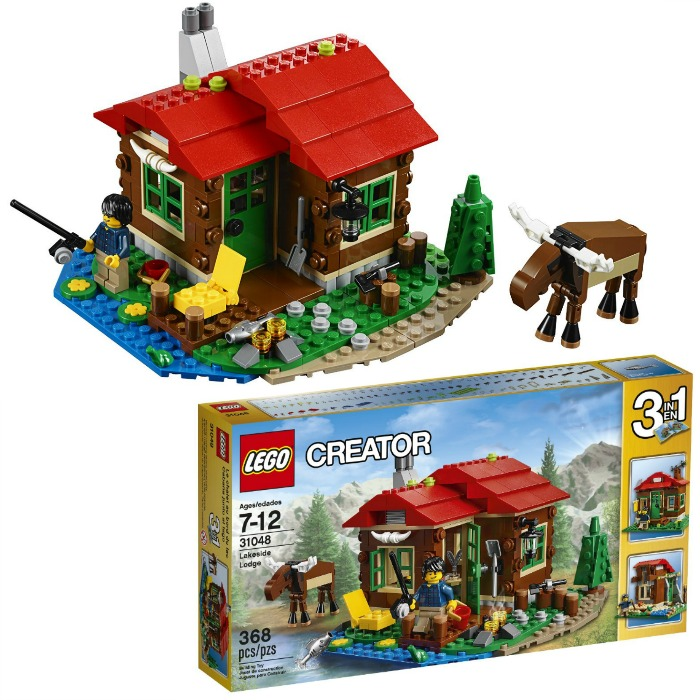 LEGO Creator Lakeside Lodge Just $19.19! Down From $30!