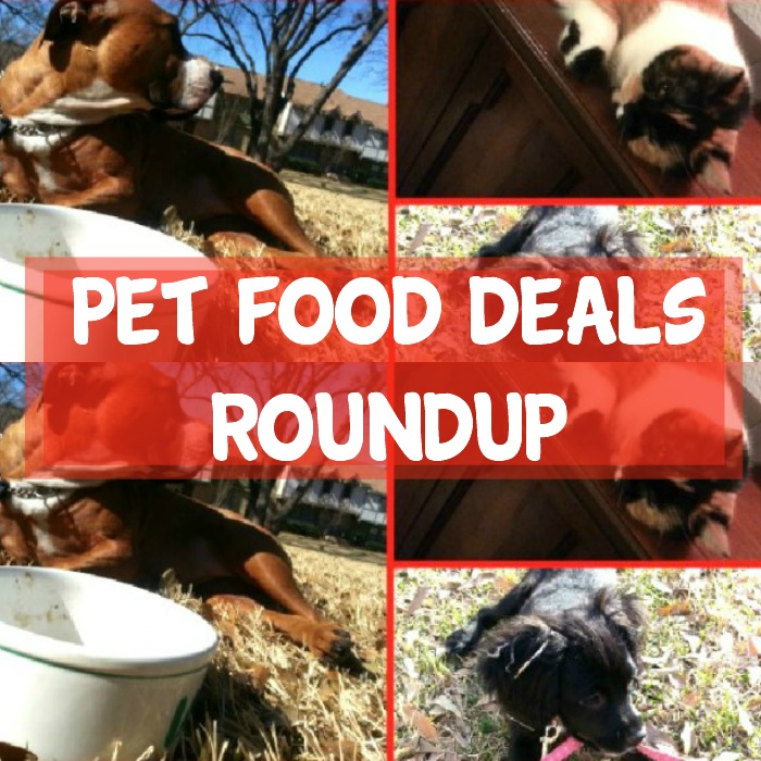 Pet Food Deals Roundup