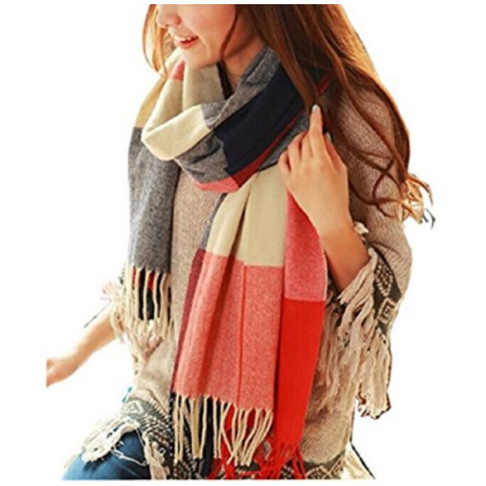 Wander Agio Women's Fashion Large Scarf Just $9.99! Down From $25!