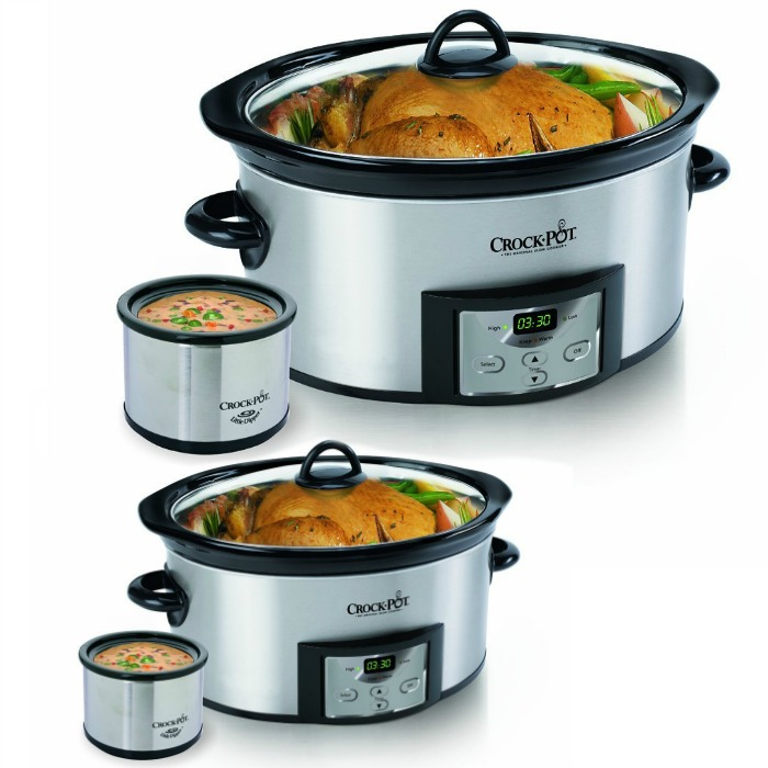 Crock-Pot 6-Quart Slow Cooker with Dipper Just $29.99! Down From $54.50!