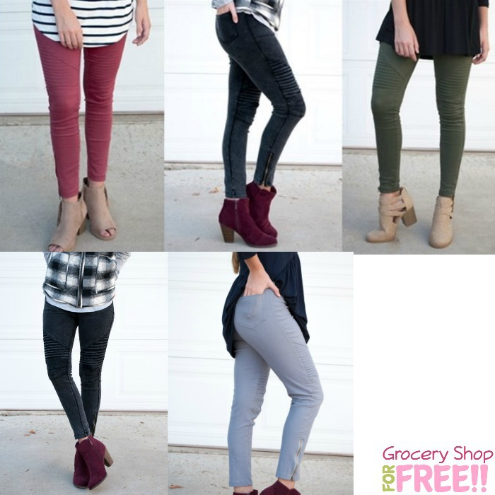 Moto Pocketed Jeggings Just $26.99!  Down From $50!