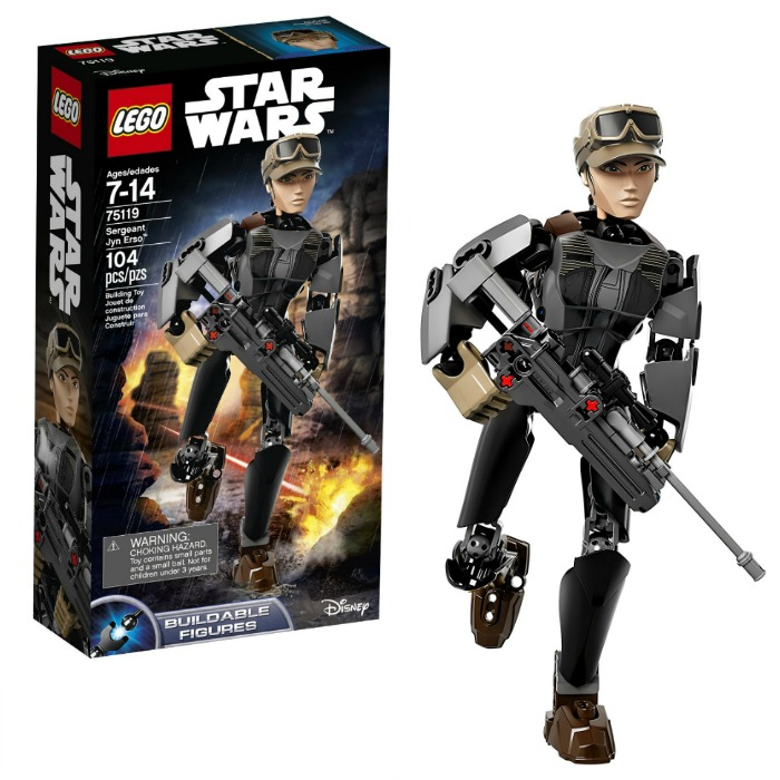 LEGO STAR WARS Sergeant Jyn Erso Just $12.49! Down From $25!