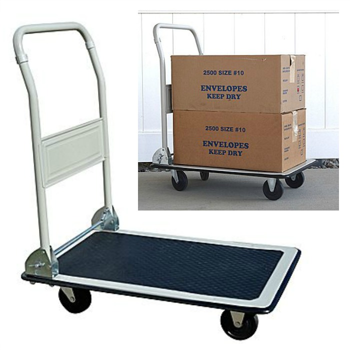 Pro-Series Folding Platform Truck Just $28.99! Down From $49!