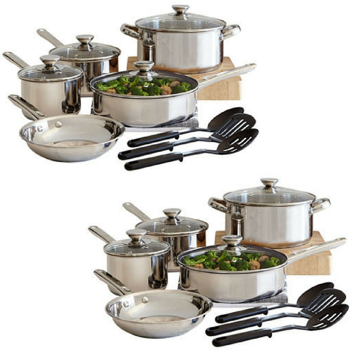 Cooks 12-Piece Cookware Set Just $39.99! Down From $100!