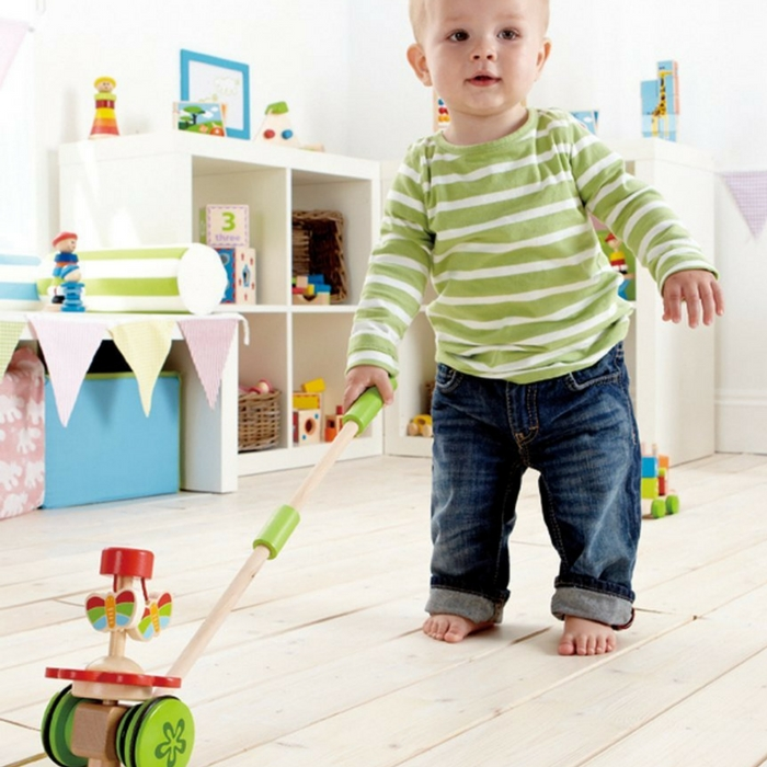 Hape Dancing Butterflies Push & Pull Toy Just $15.39! Down From $25!