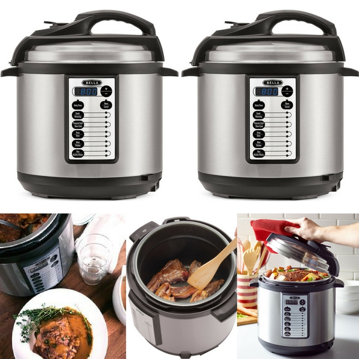 Bella Electric Pressure Cooker Just $49.99! Down From $120!