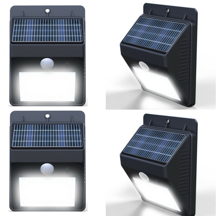 Outdoor Waterproof Solar Motion LED Light Just $13.44! Down From $66!