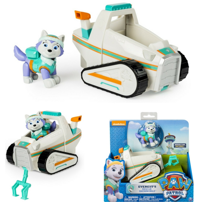 Paw Patrol Everest's Rescue Snowmobile Just $19.34! Down From $50!