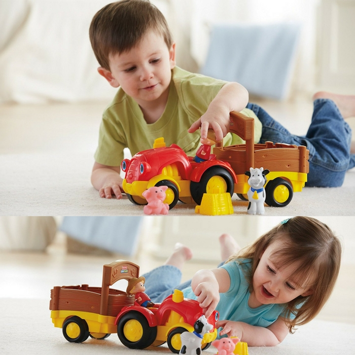 Fisher-Price Little People Tractor Just $9.84! Down From $18!