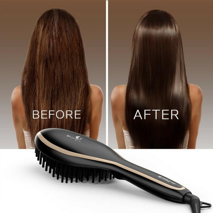 Hair Straightening Brush Just $9.99! Down From $20!