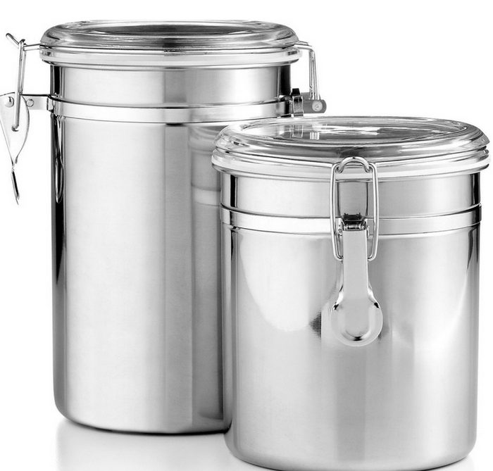 Set Of 2 Food Storage Canisters Just $9.99! Down From $25!