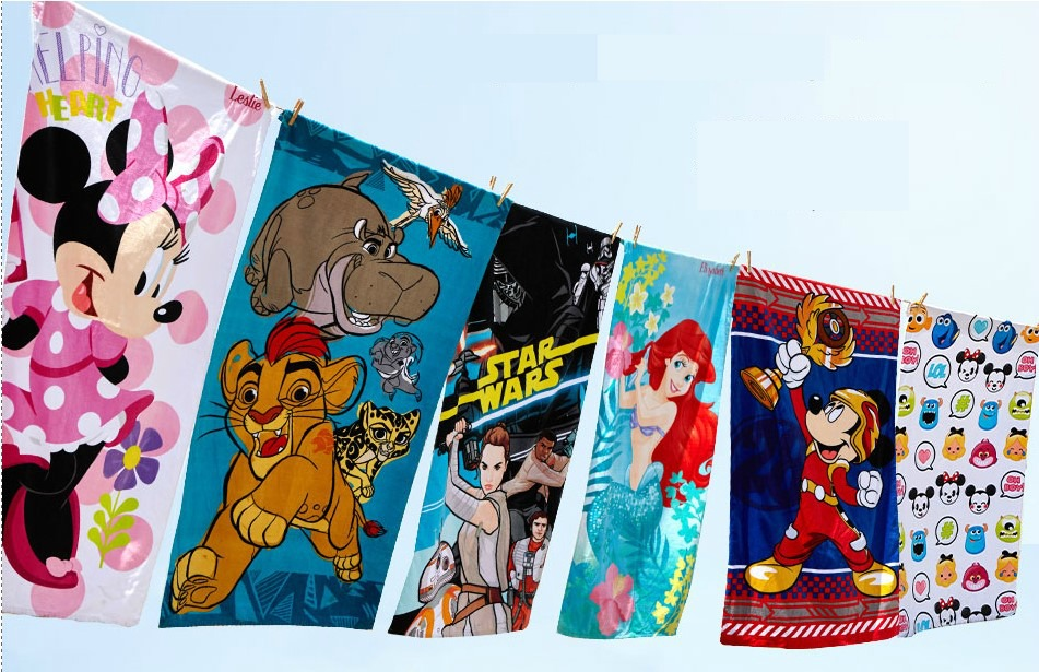 Disney Store Beach Towels Just $10!