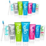 FREE Hello Extra Whitening Fluoride Toothpaste!