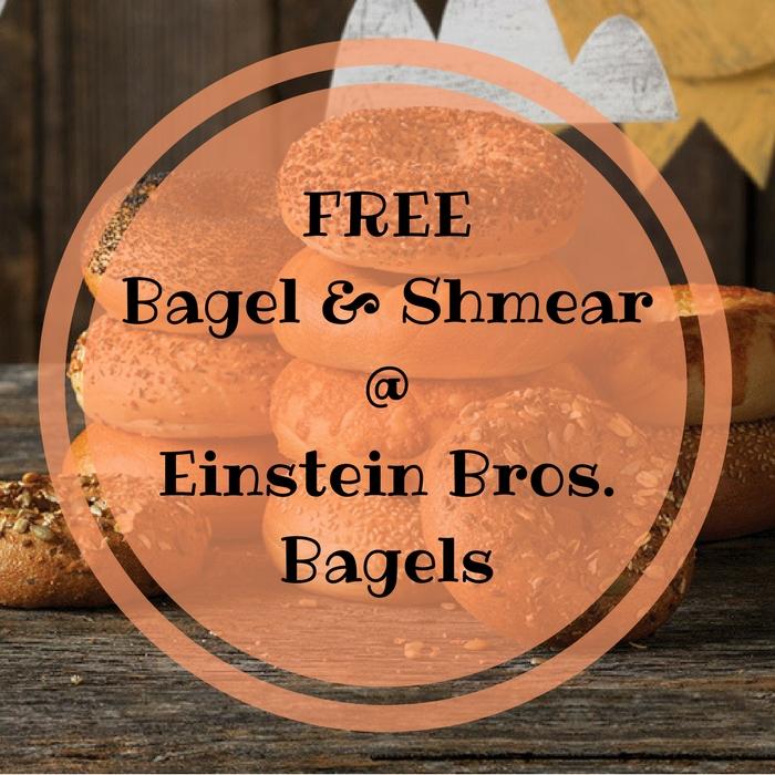 FREE Espresso Buzz Bagel & Shmear! TODAY ONLY!