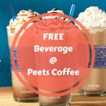 FREE ANY Size, Any Beverage At Peets Coffee!