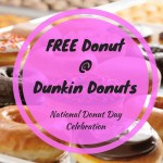 FREE Donut With Drink Purchase At Dunkin Donuts!