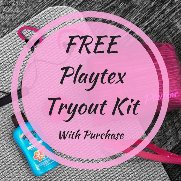 FREE Playtex Tryout Kit With Tampon Purchase!