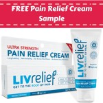 FREE LivRelief Pain Relief Cream Sample!