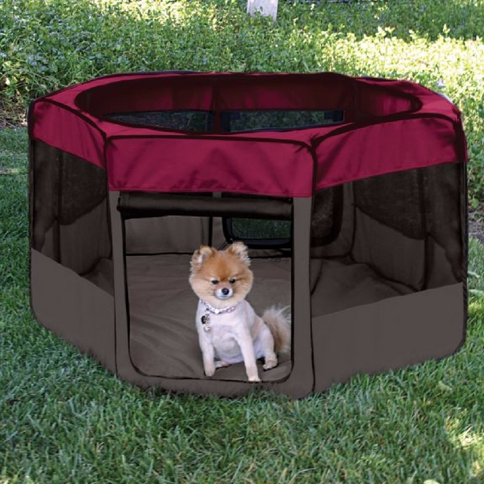 Nature's Miracle Port-A-Play Dog Pen Just $30! Down From $109!