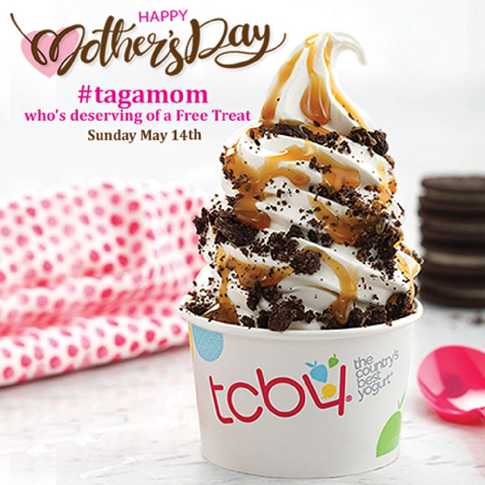 FREE Frozen Yogurt For Moms! May 14 Only!
