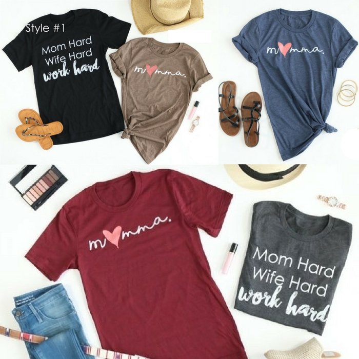 Momma Tees Just $13.99! Down From $28!