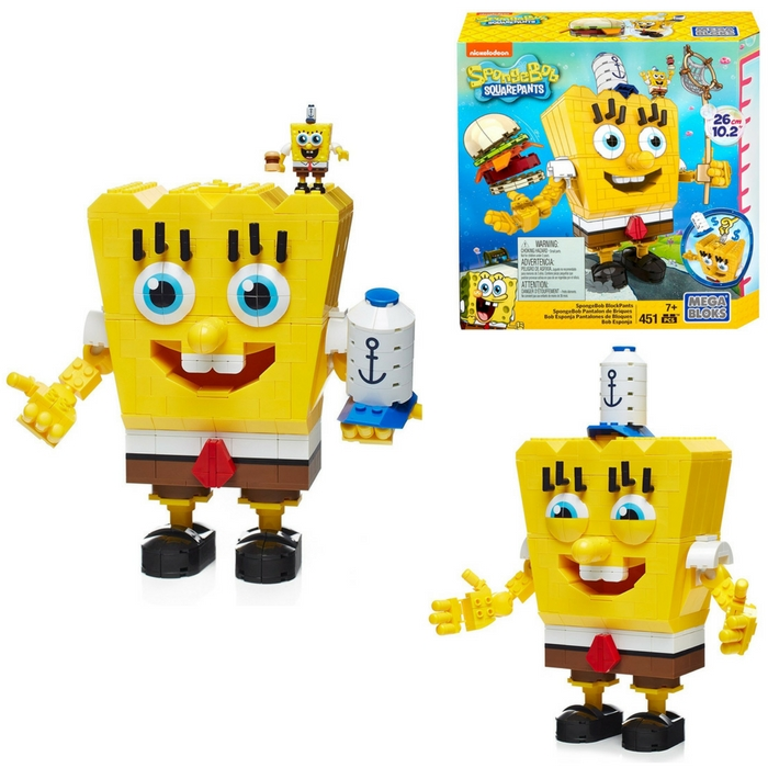 Mega Bloks SpongeBob SquarePants Set Just $14.70! Down From $40!