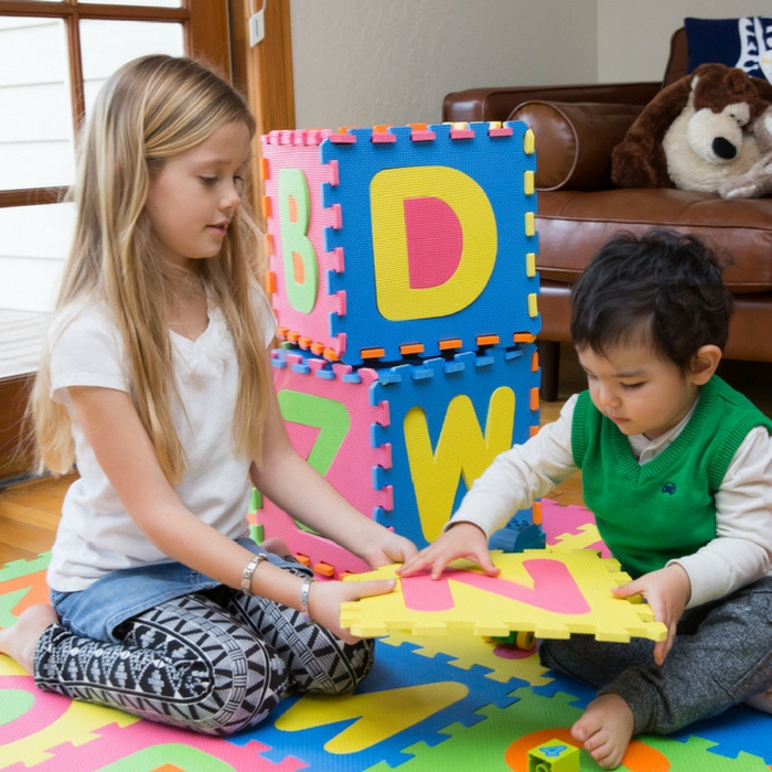 60-Piece Alphabet Mat Just $15.99! Down From $50! PLUS FREE Shipping!