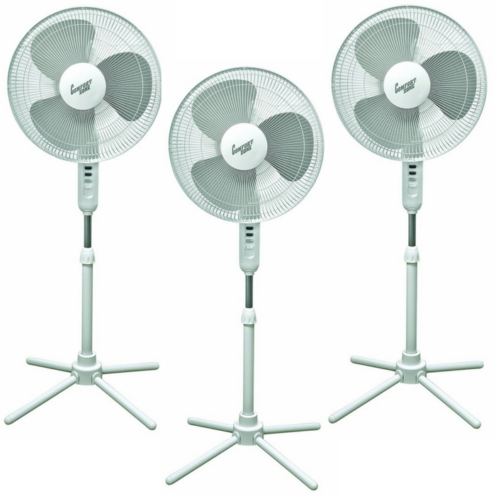 Comfort Zone Pedestal Fan Just $18.36! Down From $29! PLUS FREE Shipping!
