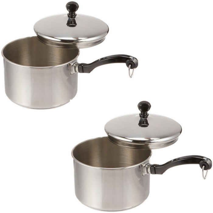 Faberware Stainless Steel Saucepan Just $11.89! Down From $50!