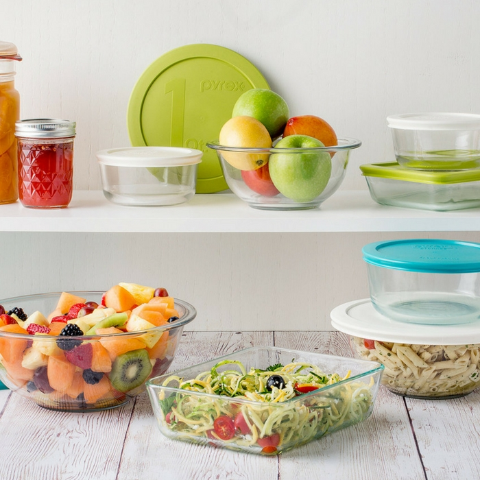 Pyrex 8-Piece Glass Storage Bowls Just $14.99! Down From $40!