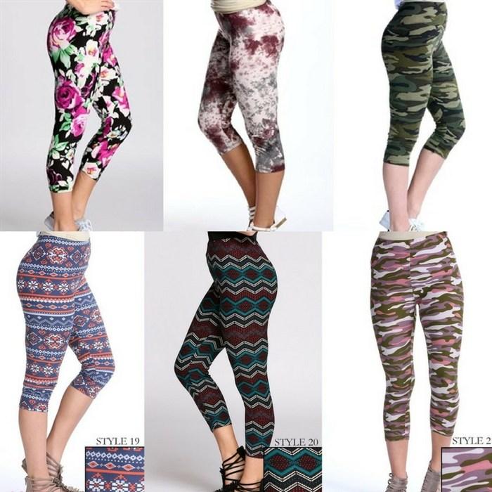 Women's Capri Leggings Just $7.99! Down From $20!