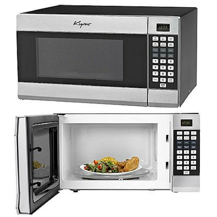 Keyton Stainless Steel Microwave Just $49.99! Down From $200! PLUS FREE Shipping!
