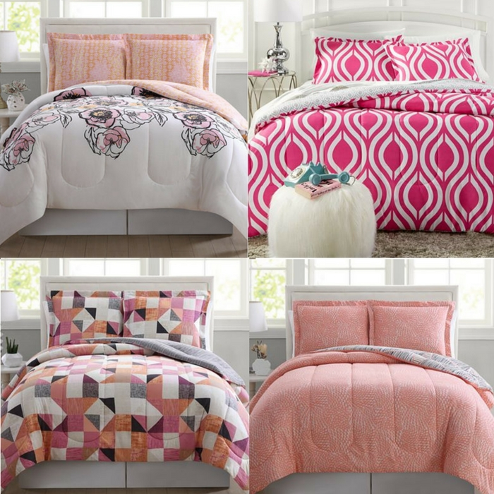 3-Piece Reversible Comforter Sets Just $19.99! Down From $80!